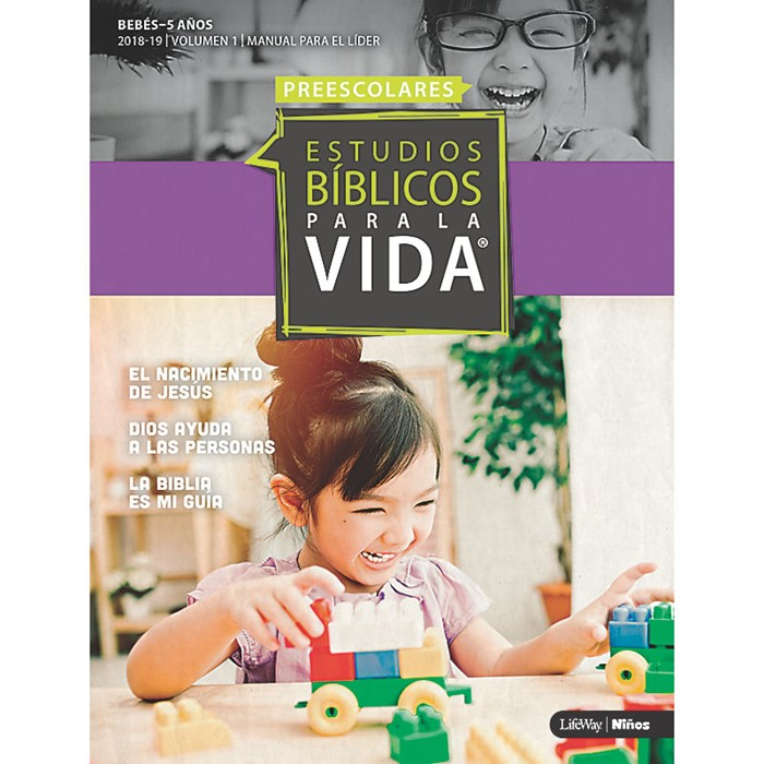 EBPLV Manual Para el Líder Para Bebes-5 Anos 2018-19 (Paperback)