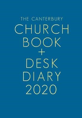 Canterbury Church Book & Desk Diary 2020 (Hard Cover)