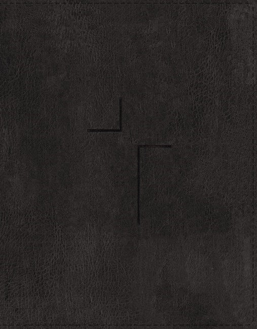 ESV Jesus Bible, Black, Indexed (Imitation Leather)