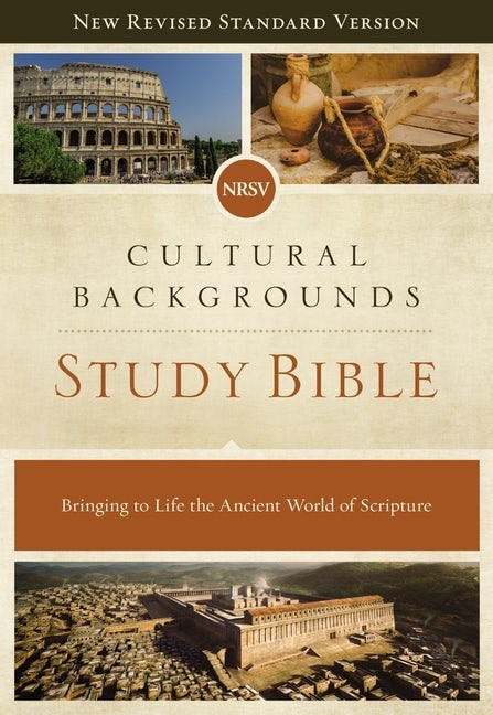 NRSV Cultural Backgrounds Study Bible, Comfort Print (Hard Cover)