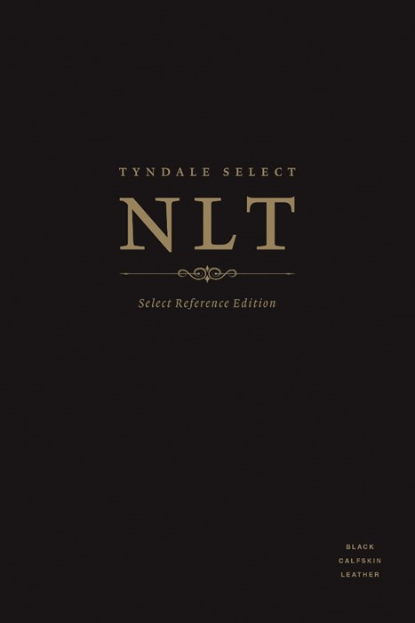 NLT Tyndale Select Reference Edition, Black Calfskin Leather (Leather Binding)