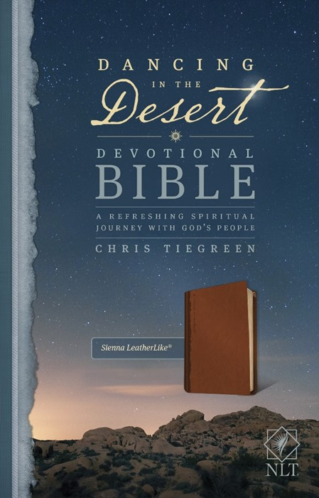 NLT Dancing In The Desert Devotional Bible (Imitation Leather)