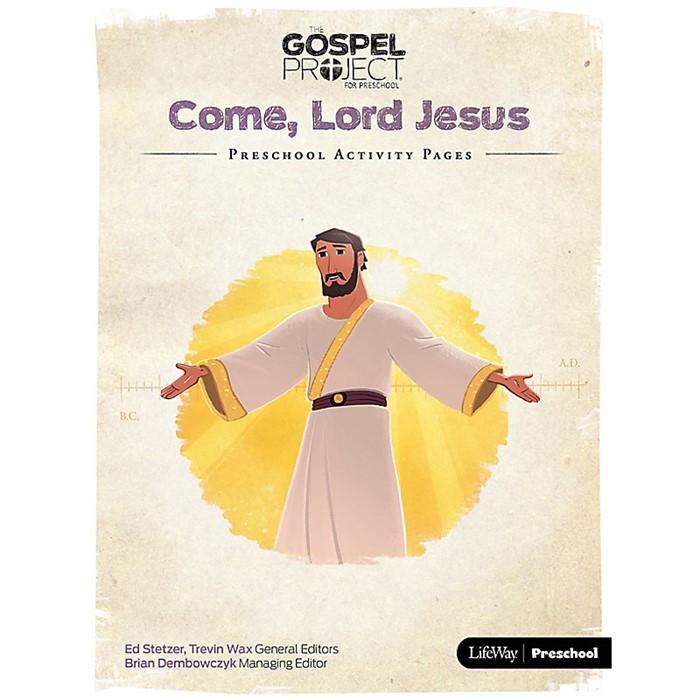 Gospel Project: Preschool Activity Pages, Summer 2018 (Paperback)