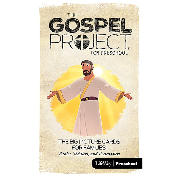 Gospel Project: Preschool Picture Cards, Summer 2018 (Cards)