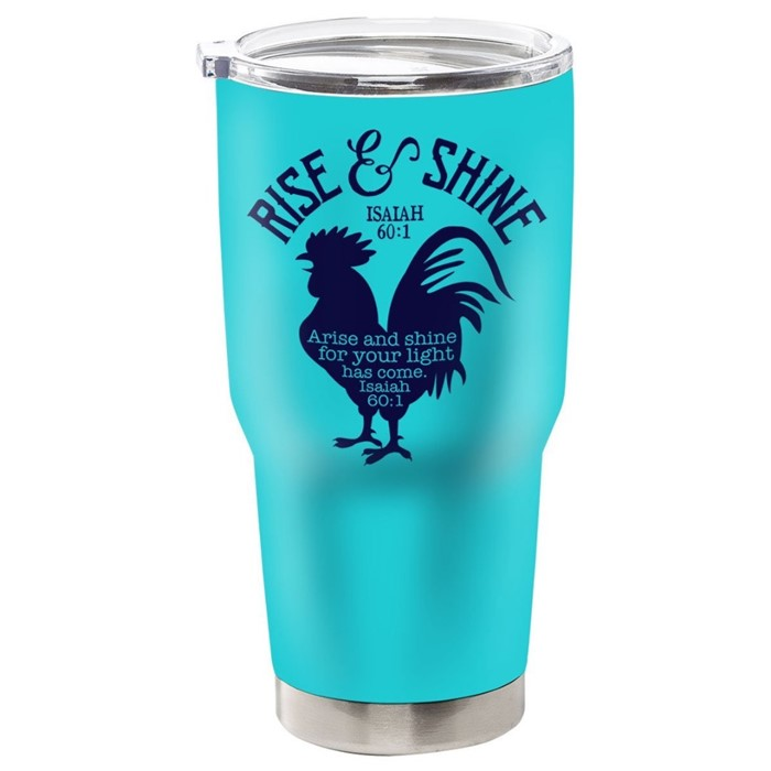 Rise And Shine Stainless Steel Tumbler