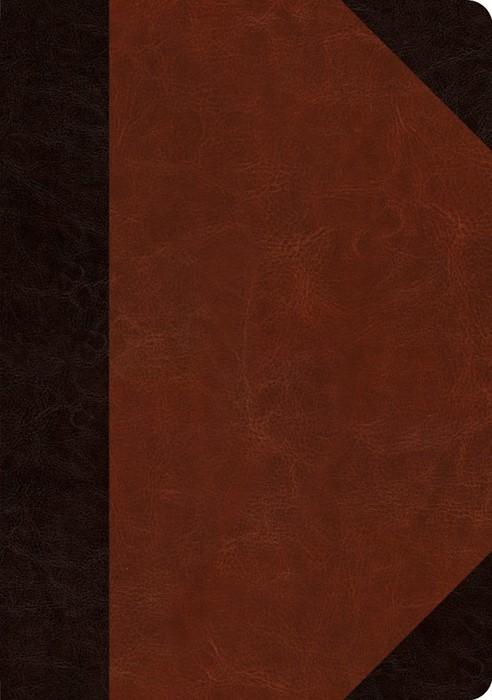 ESV Journaling Bible, Interleaved Edition, Brown/Cordovan (Imitation Leather)