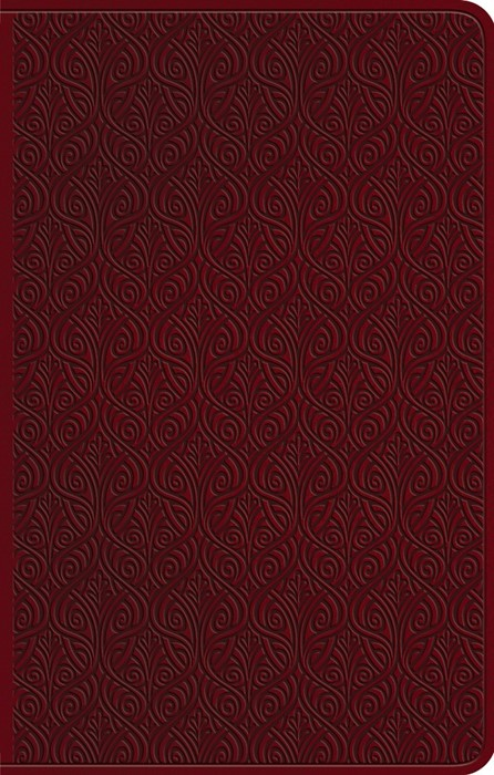 ESV Premium Gift Bible, TruTone, Ruby, Vine Design (Imitation Leather)