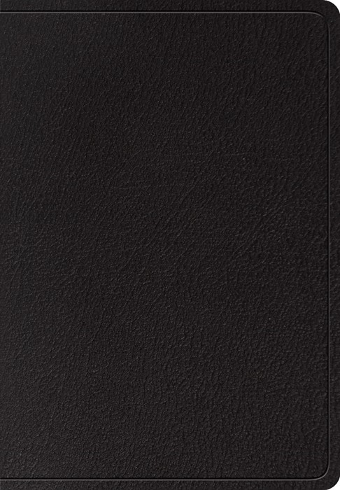 ESV Super Giant Print Bible, Black (Genuine Leather)