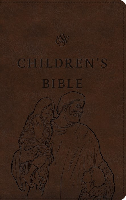 ESV Children's Bible, Brown, Let the Children Come (Imitation Leather)