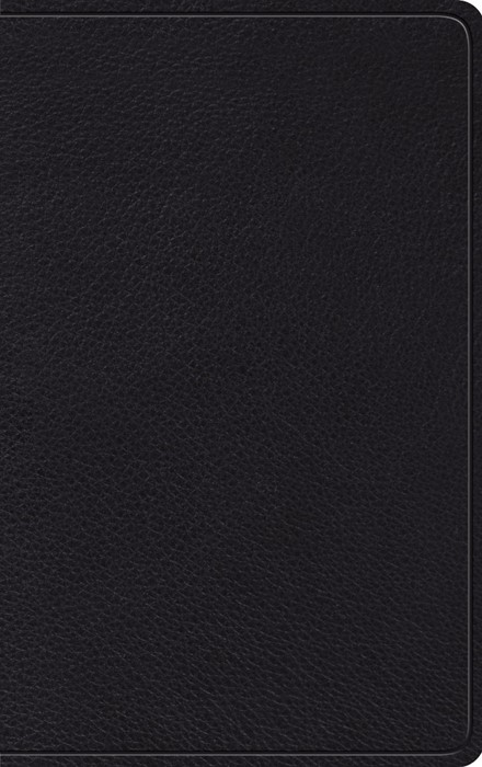 ESV Thinline Bible, Black Genuine Leather (Genuine Leather)
