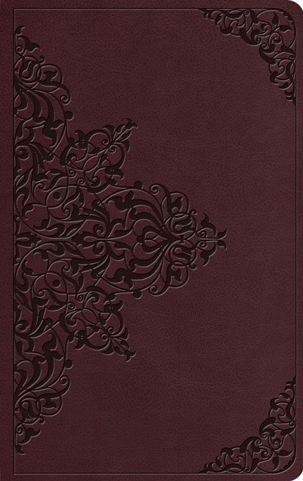 ESV Value Thinline Bible, TruTone, Chestnut, Filigree Design (Imitation Leather)