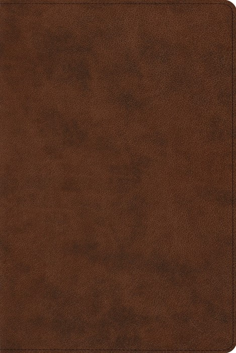 ESV Reader's Bible, TruTone, Brown (Imitation Leather)