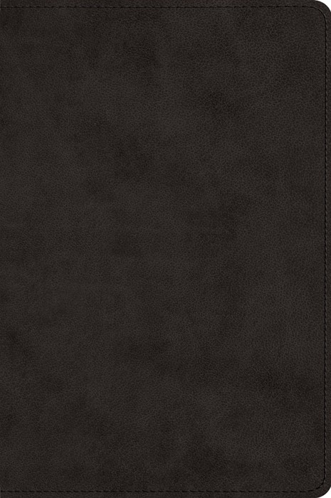 ESV Wide Margin Reference Bible, TruTone, Black (Imitation Leather)