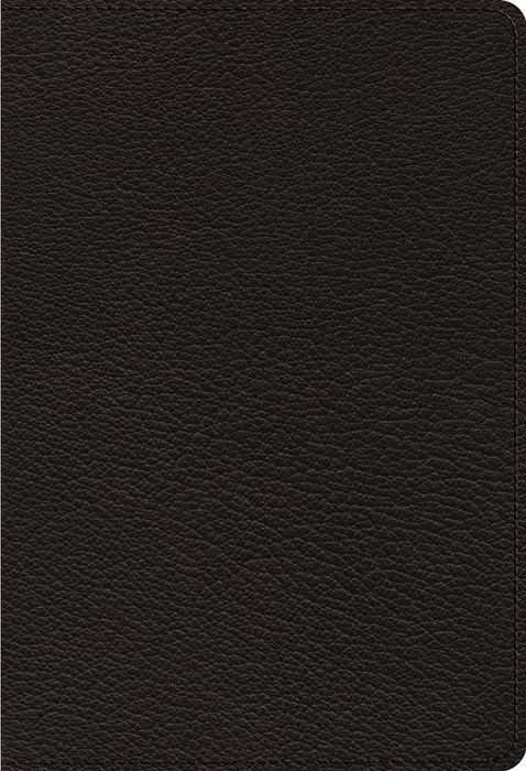 ESV Heirloom Single Column Personal Size Bible, Black (Genuine Leather)