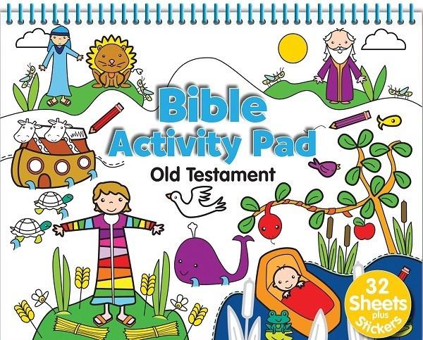 Bible Activity Pad: Old Testament (Spiral Bound)