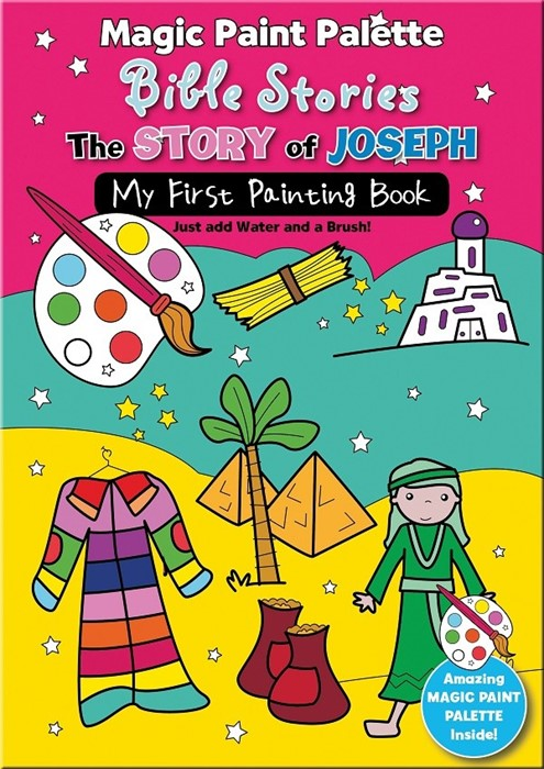 Magic Paint Palette Bible Stories: The Story Of Joseph (Paperback)