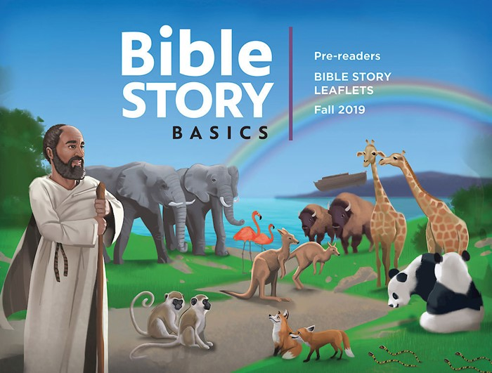 Bible Story Basics Pre-Reader Leaflets, Fall 2019 (Paperback)
