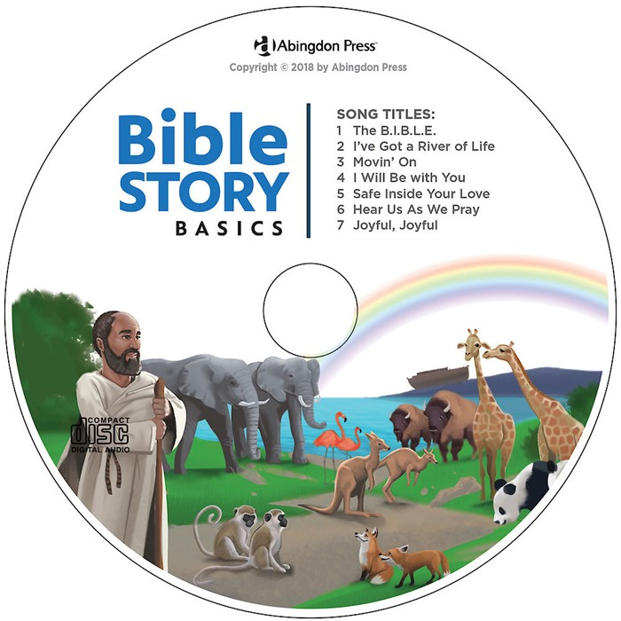 Bible Story Basics Student Take-Home CD (CD-Audio)