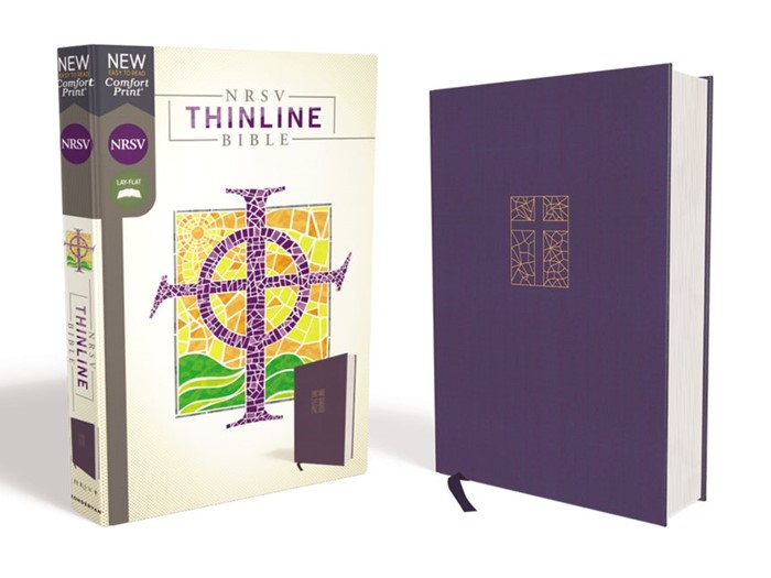 NRSV Thinline Bible, Navy, Comfort Print (Cloth-Bound)