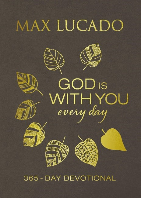 God Is With You Every Day (Imitation Leather)