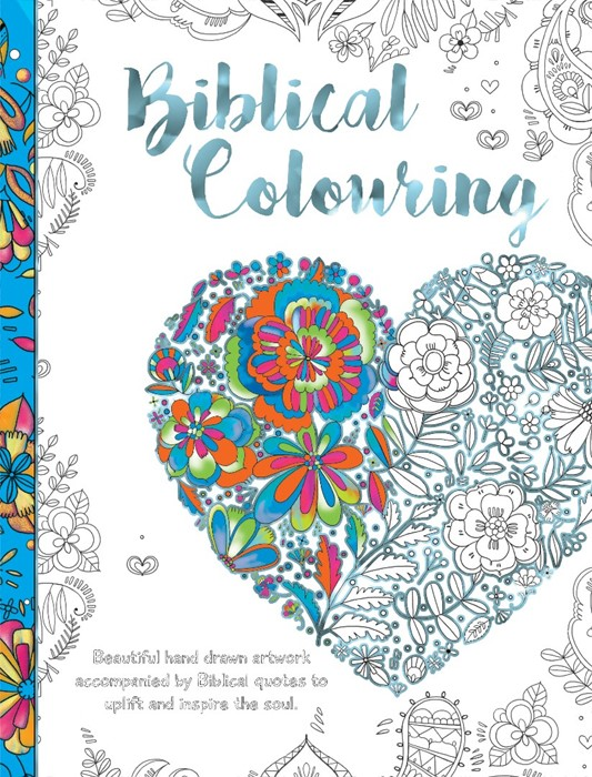 Biblical Colouring Book: Heart (Paperback)