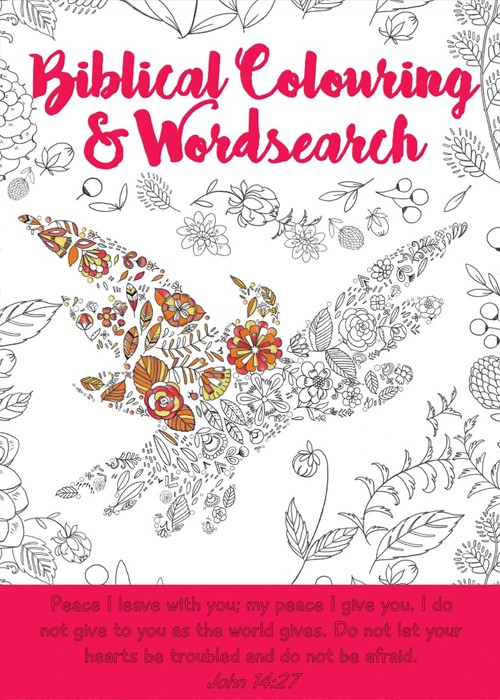 Biblical Colouring and Wordsearch Book: Bird (Paperback)