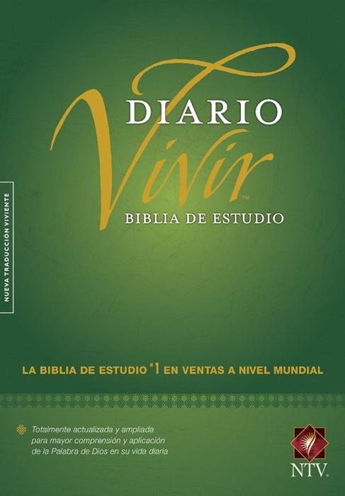 Biblia De Estudio Del Diario Vivir Ntv (Hard Cover)