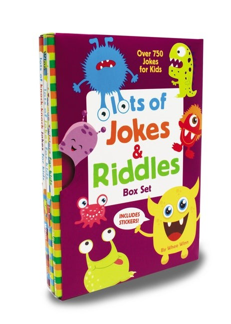 Lots Of Jokes And Riddles Box Set (Paperback)