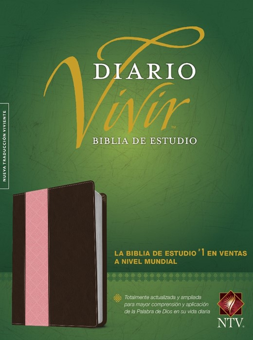 Biblia De Estudio Del Diario Vivir Ntv (Imitation Leather)