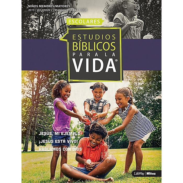 EBPLV Escolares: Manual para el Líder Ninos Menores/Mayores (Paperback)