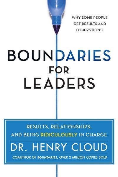 Boundaries For Leaders (Hard Cover)