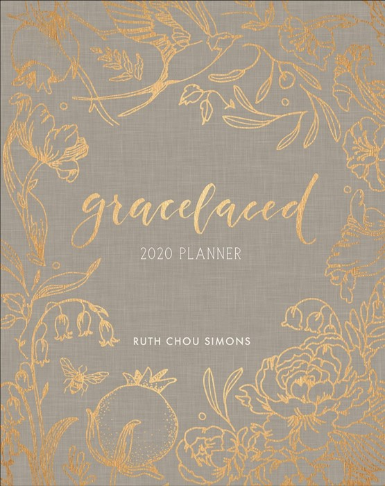 GraceLaced 2020 12-Month Planner (Hard Cover)