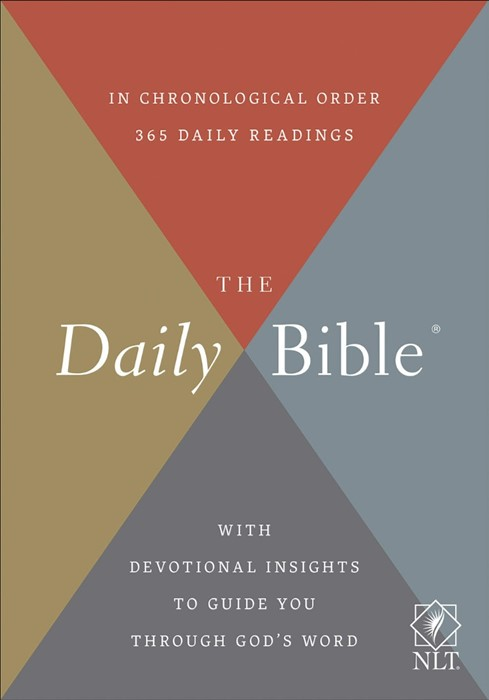 The NLT Daily Bible (Hard Cover)