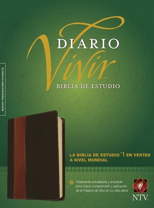 NTV Biblia De Estudio Del Diario Vivir (Imitation Leather)