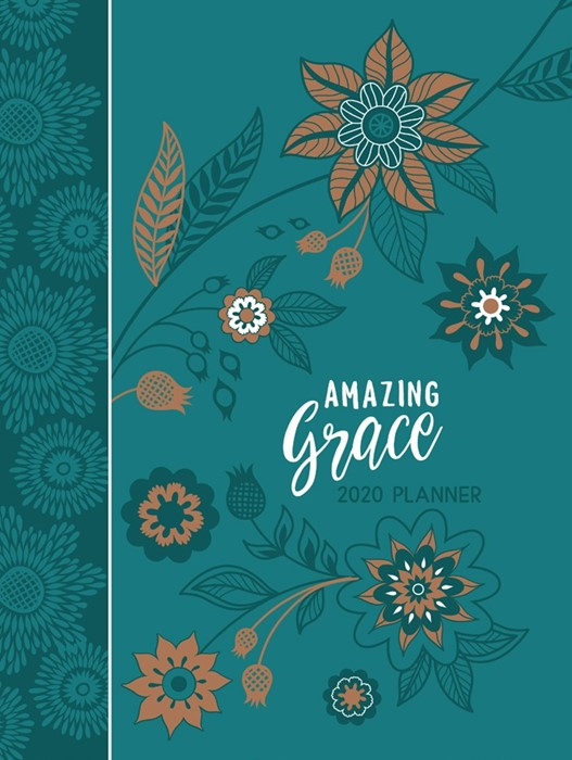 2020 16 Month Weekly Planner, Amazing Grace (Imitation Leather)