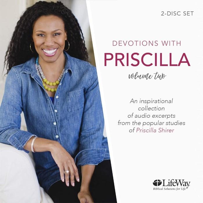 Devotions With Priscilla Audio Book (CD-Audio)