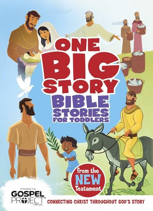 Bible Stories for Toddlers from the New Testament (Board Book)