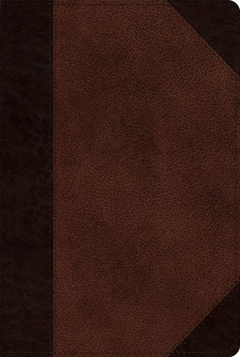 ESV New Testament, TruTone, Brown/Walnut (Imitation Leather)