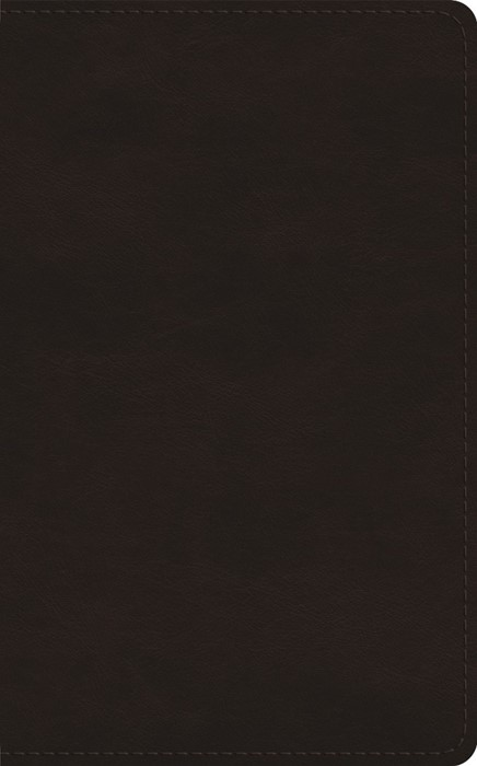 ESV New Christian's Bible, TruTone, Deep Brown (Imitation Leather)