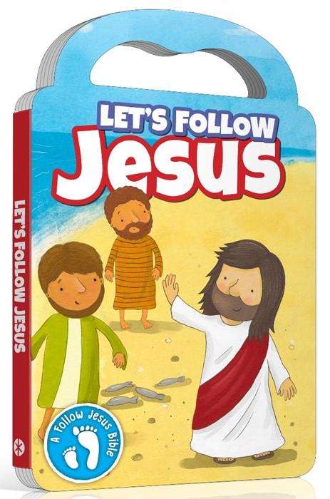 Let's Follow Jesus (Board Book)