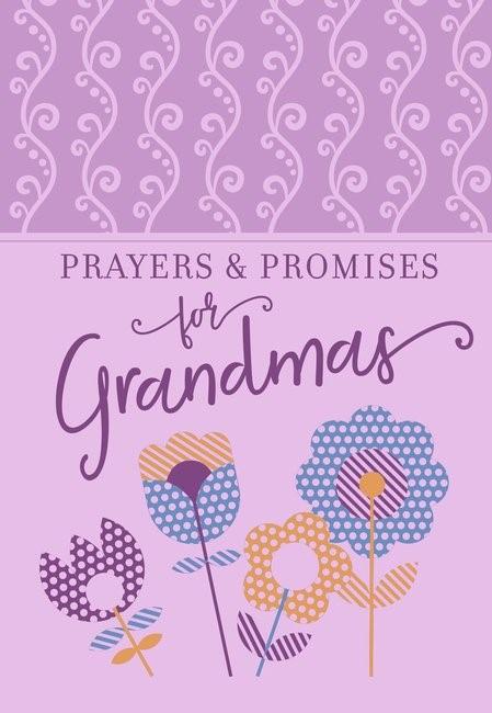 Prayers & Promises for Grandmas (Imitation Leather)
