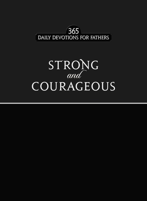 Strong and Courageous (Imitation Leather)