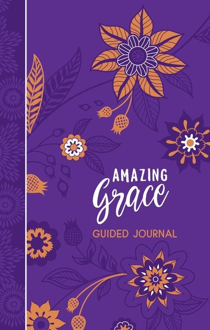 Amazing Grace Guided Journal (Imitation Leather)