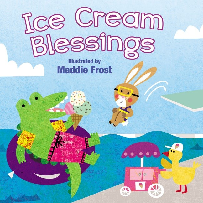 Ice Cream Blessings (Board Book)