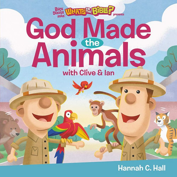 God Made the Animals (Hard Cover)