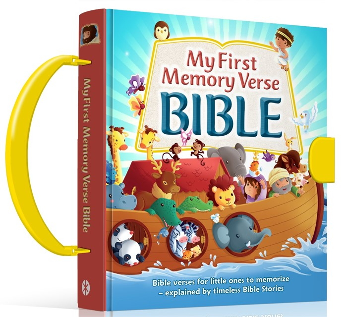 My First Memory Verse Bible (Hard Cover)