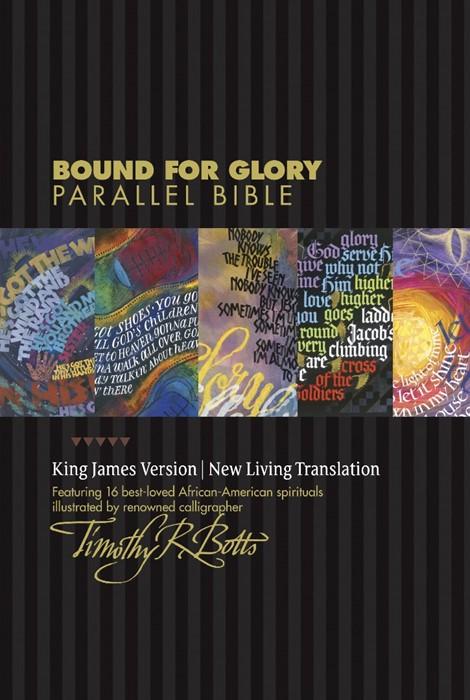 KJV/NLT Bound For Glory Parallel Bible (Imitation Leather)