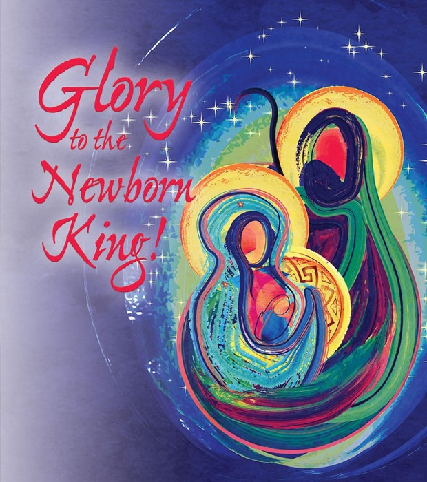 Newborn King Nativity Christmas Bulletin, Large (Pkg of 50) (Bulletin)