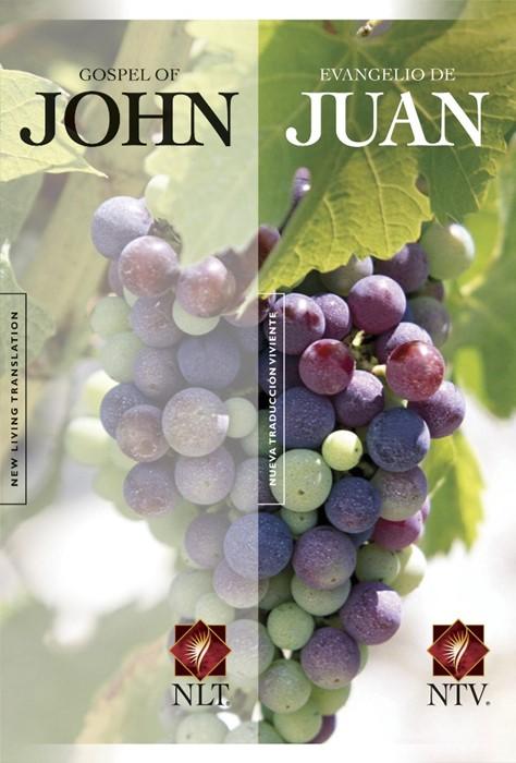 NLT Gospel Of John & NTV Evangelio De Juan Parallel (Paperback)