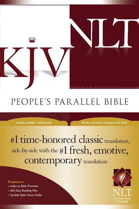 KJV/NLT People's Parallel Bible (Hard Cover)